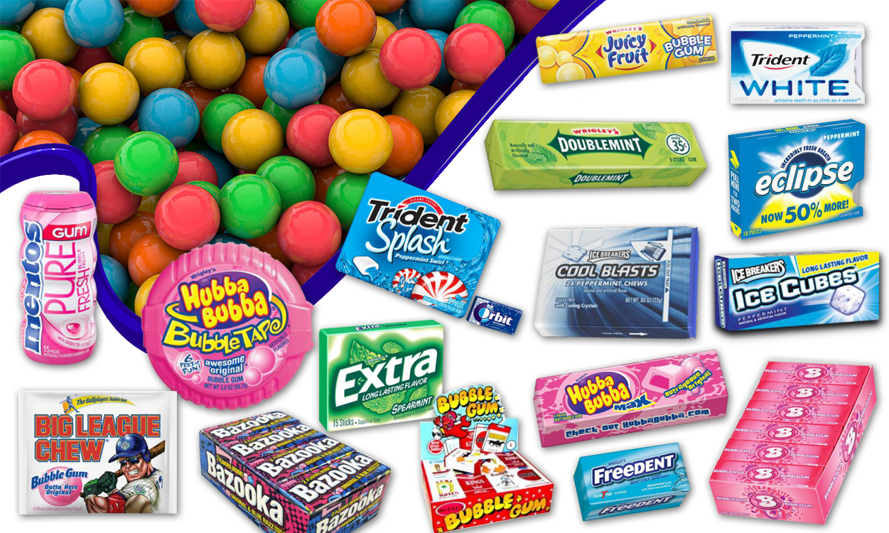 Gum By Flavors