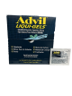 Advil Liquid-Gels 200 mg (Box of 50 Pouches of 2's) Buy It at www.UsaCandyWholesale.Com