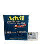 Advil Tablets 200 mg (Box of 50 Pouches of 2's) Buy it at www.UsaCandyWholesale.Com
