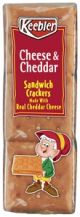 Keebler Crackers Cheese & Cheddar Flavor 1.8 oz (Box of 12 Packs) Buy It at www.UsacandyWholesale.Com