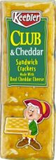 Keebler Crackers Club & Cheddar 1.8 oz (Box of 12 Packs) But It at www.UsaCandyWholesale.Com
