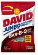 David Sunflower Seeds BBQ 5 oz (Box of 12 Packs) Buy It at www.UsaCandyWholesale.Com