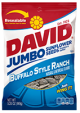 David Sunflower Seeds Buffalo Style Ranch Flavor 5 oz (Box of 12 Packs) Buy It at www.UsaCandyWholesale.Com