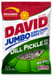 David Sunflower Seeds Dill Pickle Flavor 5 oz (Box of 12 Packs) Buy It at www.UsaCandyWholesale.Com
