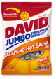 David Sunflower Seeds Jalapeno Hot Salsa Flavor 5 oz (Box of 12 Packs) Buy It at www.UsaCandyWholesale.Com