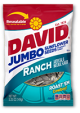 David Sunflower Seeds Ranch 5 oz (Box of 12 Packs) Buy It at www.UsaCandyWholesale.Com