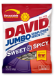 David Sunflower Seeds Sweet & Spicy Flavor 5 oz (Box of 12 Packs) Buy It at www.UsaCandyWholesale.Com