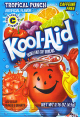 Kool aid Tropical Punch Flavor (Box of 48 Packs) Buy It at www.UsaCandyWholesale.Com