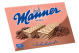 Manner Wafers Cookies Chocolate Flavor 2.54 oz (Box of 12 Packs) Buy It at www.UsaCandyWholesale.Com