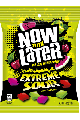 Now and Later Extreme Sour Assorted Peg 4 oz