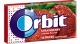 Orbit Gum Strawberry Flavor (Box of 12 Packs) Buy It at www.UsaCandyWholesale.Com