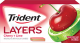 Trident Layers Gum Cherry + Lime Flavor (Box of 12 Packs) Buy It at www.UsaCandyWholesale.Com