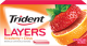 Trident Layers Gum Strawberry + Citrus Flavor (Box of 12 Packs) Buy It at www.UsaCandyWholesale.Com