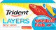 Trident Layers Gum Swedish Fish Berry Lemon Flavor (Box of 12 Packs) Buy It at www.UsaCandyWholesale.Com