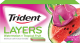 Trident Layers Gum Watermelon + Tropical Fruit Flavor (Box of 12 Packs) Buy It at www.UsaCandyWholesale.Com