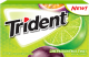Trident Gum Lime Passion Fruit Twist Flavor Buy It at UsaCandyWholesale.Com