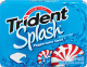 Trident Splash Gum Peppermint Swirl (Box of 10 Packs) Buy It at www.UsaCandyWholesale.Com