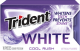 Trident White Gum Cool Rush Flavor (Box of 9 Packs) Buy It at www.UsaCandyWholesale.Com