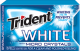 Trident White Gum Micro Crystals (Box of 9 Packs) Buy It at www.UsaCandyWholesale.Com