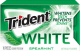 Trident White Gum Spearmint Flavor (Box of 9 Packs) Buy It at www.UsaCandyWholesale.Com