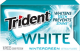 Trident White Gum Wintergreen Flavor (Box of 9 Packs) Buy It at www.UsaCandyWholesale.Com