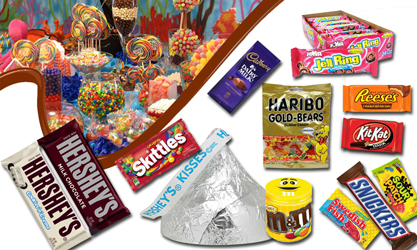 Giant candy
